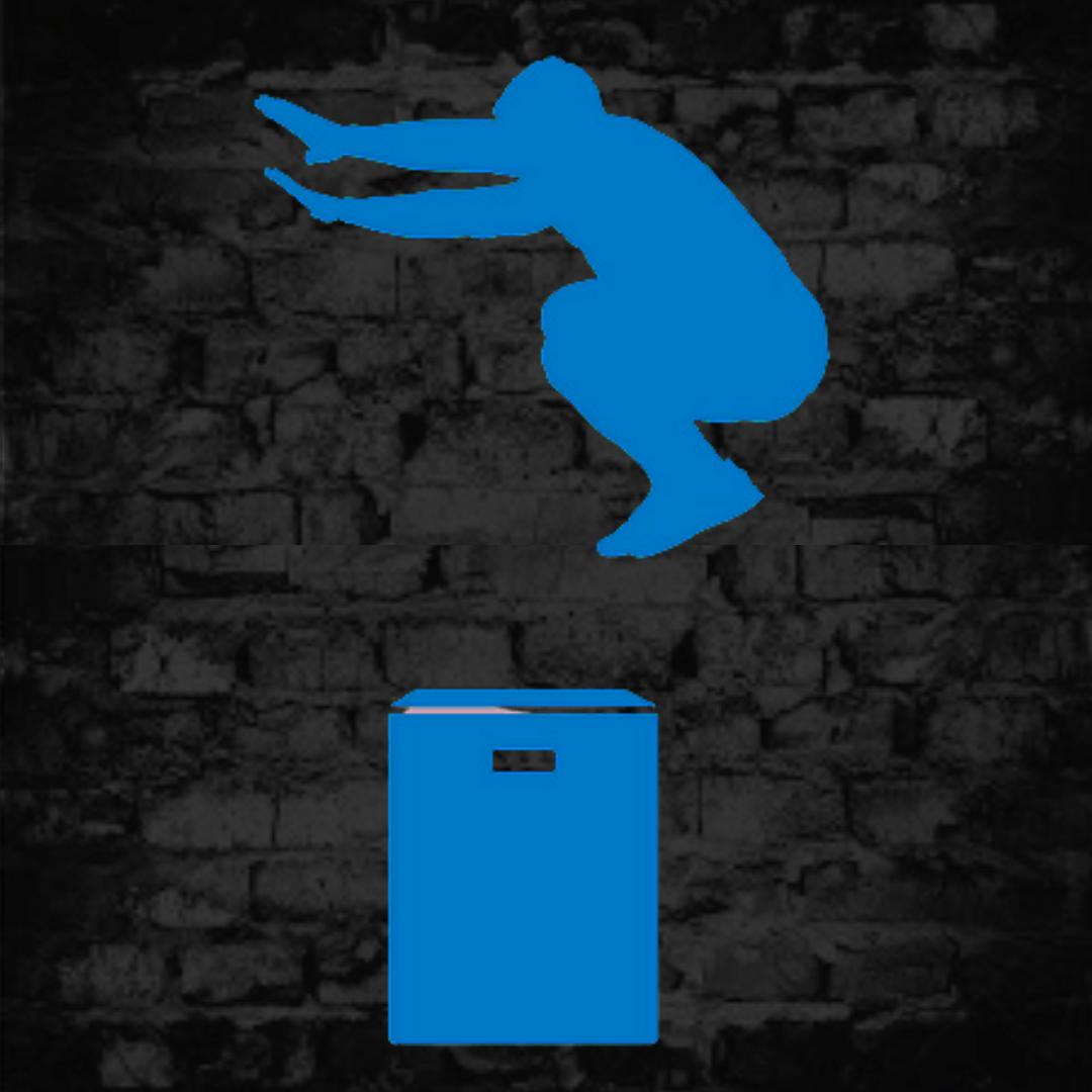 Man Box Jumping