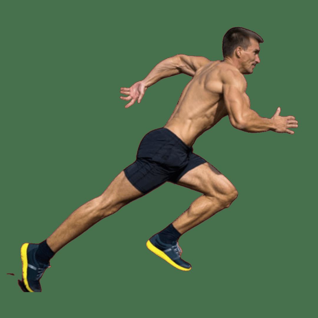 Muscular Sprinter's Body