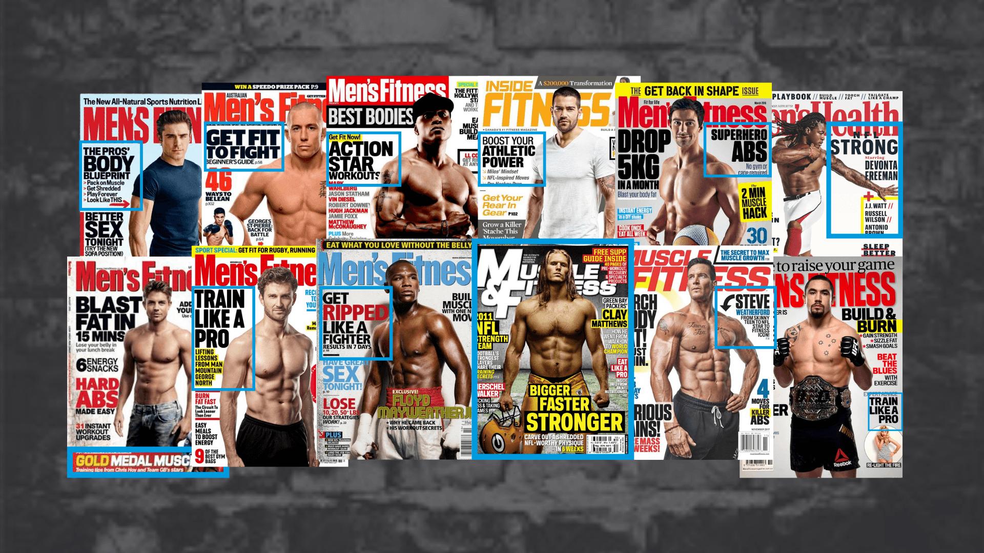 Popular Men's Fitness Magazines